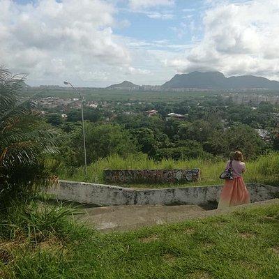 Vista dos bairros da Barra da Tijuca, Recreio dos Bandeirantes, Vargem Pequena e Vargem Grande.