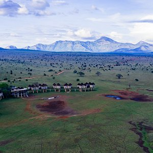 Salt Lick Game Lodge , one of the lodges in our sanctuary. It is said to be one of the most photographed lodge in the world