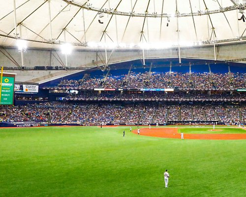 General view of Tropicana Field.