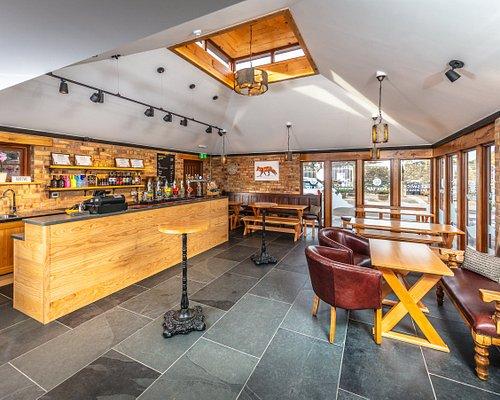 The Fox Tap bar at Keswick Brewery