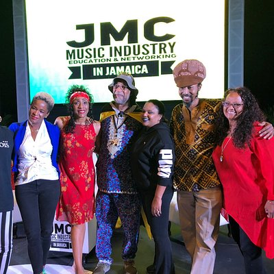 One of the best kept secrets is the JMC ( Jamaica Music Conference) which is in its 7th year. I got there by accident but for any young artist the conference is full of pertinent and valuable information for a career in music. If you are on the island from February 13th - 16th plan to spend a day at this conference. As for me my treat was the facilitators Tidal Pandora DJKool Herc Shaggy to name a few and then all the Music greats ... Mr Bunny Wailer made an appearance ..