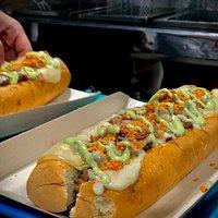 Uno de nuestros platos fuertes. Doggy - Doggy.