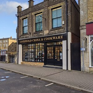 Cotswold China and Cookware on a beautiful winter's morning 2020.