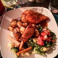 Tangerine chicken breast