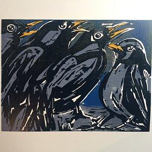 """""""Four Collie Birds"""""""