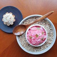 Rhubarb, Woodruff, Almond