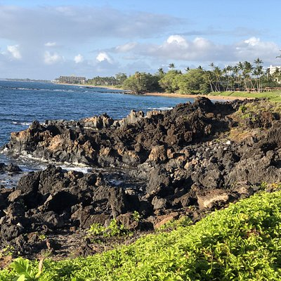 Views from the walk along the Wailea Beach Path