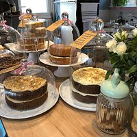 We have a selection of Homemade Cakes which are Baked on the Premises