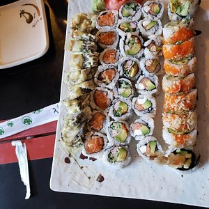 Delicious roll platter!