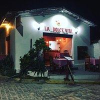 Fachada do restaurante La Dolce Vita