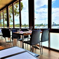The view from the Matilda Bay Restaurant