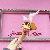 En Jacinta & María, tú eres la protagonista, tú eres el protagonista.