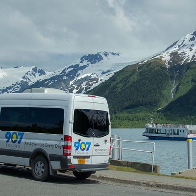 The Portage Glacier Cruise is a highlight of 907 Tours Glacier & Wildlife Tour from Anchorage, Alaska