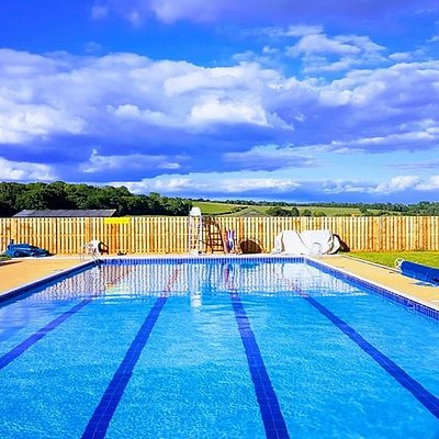 Refurbished for 2019 Helmsley Pool in the North York Moors National Park.