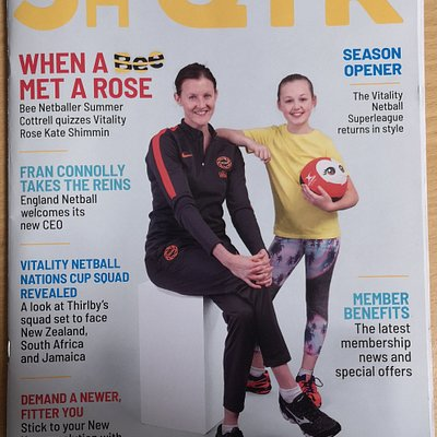 5th Qtr magazine for the England Netball team