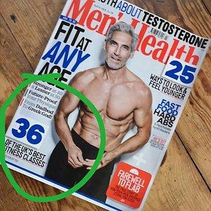Men's Health Magazine feature March 2020