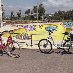 Vélo de ville électrique pour flaner sur les plages