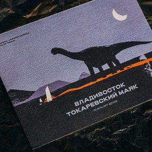 Original postcards from local designers / Открытки от местных дизайнеров
