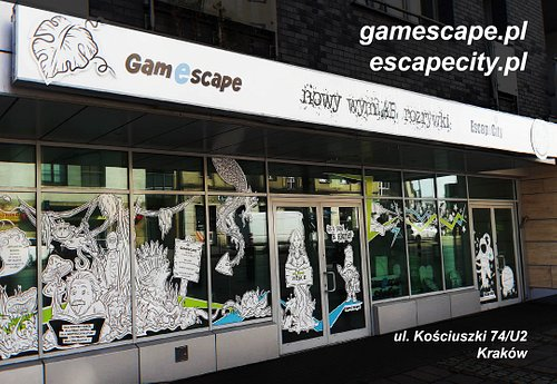 Welcome to new location - Kosciuszki 74, Escape Room Krakow.
