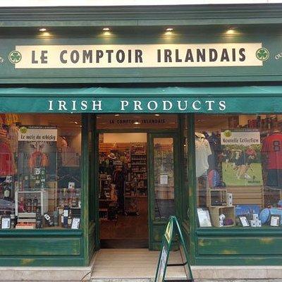 Le Comptoir Irlandais du Havre vous accueille au cœur de l'Irlande à travers sa cave, son épicerie, ses produits textile, et ses accessoires maison.