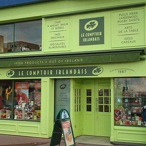 Le Comptoir Irlandais de Brest  vous accueille au cœur de l'Irlande et des produits celtes à travers sa cave, son épicerie, ses produits textile, et ses accessoires maison.