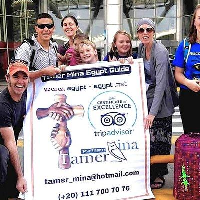 Tamer Mina Egypt Tour Guide.