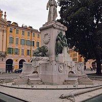 Nice. Statue de Garibaldi