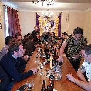 A group of englismen found out that craftbeer is actually great and they should discover it more often in England too