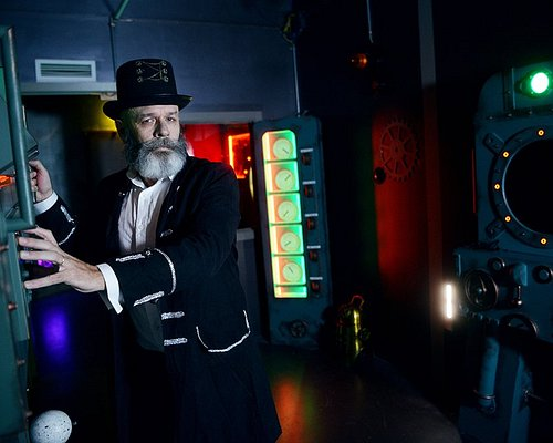 Escape Game based on a book of Jules Verne 20000 leagues under the sea
