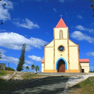 Eglise de Mouli et son décors