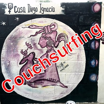 Couchsurfing services, Mayan Massage Healing, Traditional dishes!