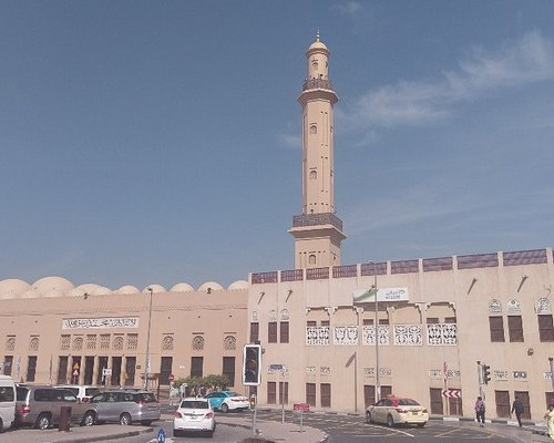 The Grand Mosque behind the Dubai Museum