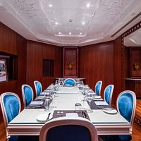 Private dinners and events can be arranged in the restaurant's private dining room.