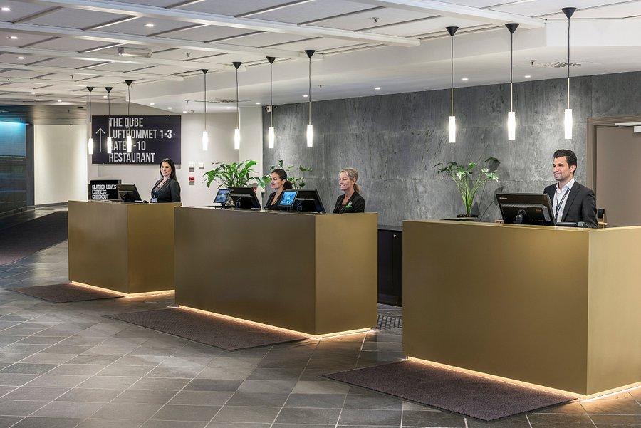 The Qube Kongressenter Clarion Hotel Congress Oslo Airport