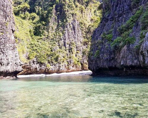 Wang long bay.  beautiful small private beach