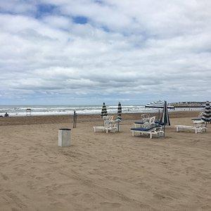 Playas amplias...