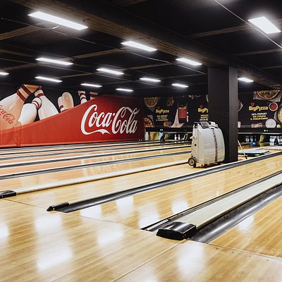 One of our four bowling alleys in Belgrade