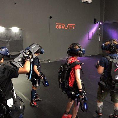 Gravity Arena - Equipe de Jovens Guerreiros