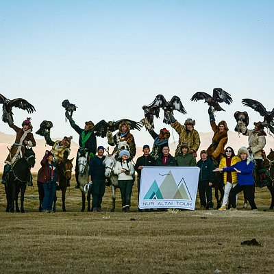 Small eagle hunter competition in 2019.