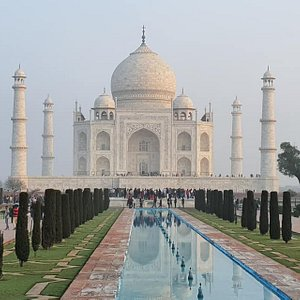 Taj Mahal needs no introduction. It is the finest monument ever built in the history of love, anywhere in the world.
