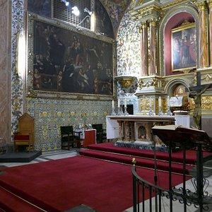 Iglesia de Santa Ursula, interiör #2