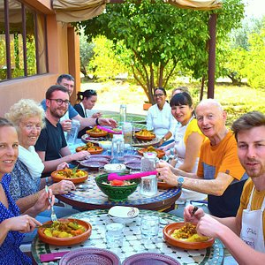 Couscous Party in the countryside