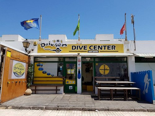 The diving centre