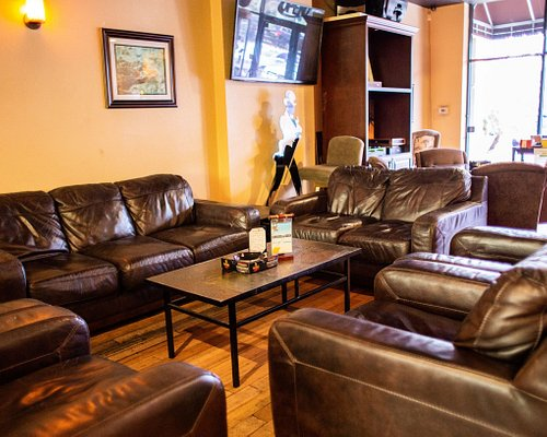 We offer a relaxing Lounge environment for your comfort and enjoyment