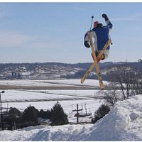 Freestyle skiing at its best!
