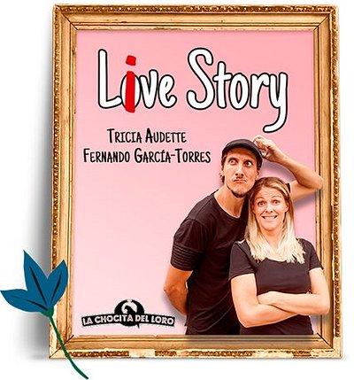 Live Story, la única comedia de Madrid en Spanglish! Apta para todos los niveles de inglés, en La Chocita del Loro de Gran Vía.