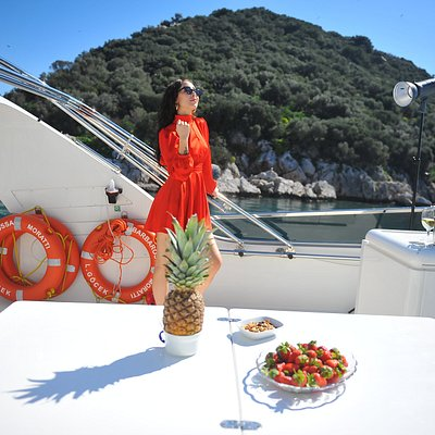 Private yacht hire in Belek Kemer Antalya AYA Yachting..