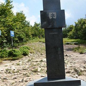 Triplex on Krzemieniec - Slovak side