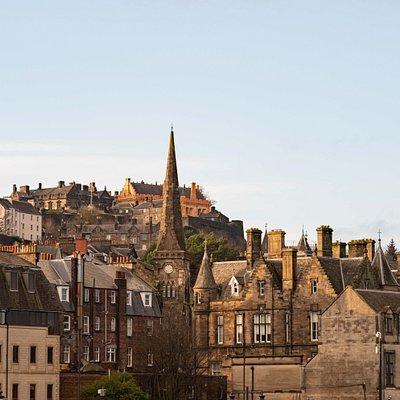 Vistas impresionantes del Old Town de Stirling