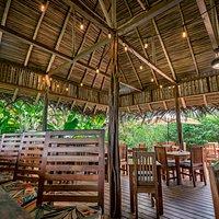 Our open air restaurant